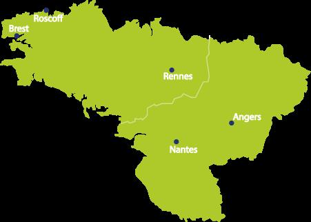 Carte Grand Ouest